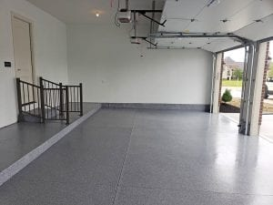Garage Floor Coating Resurfacing