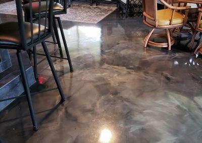 Metallic Marble Floor