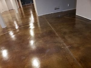 Stained and Sealed Floors