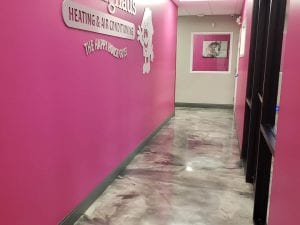 Commercial Office Marble Flooring