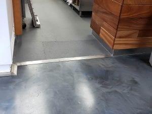 Eco-Grip Metallic Marble Floor Transition