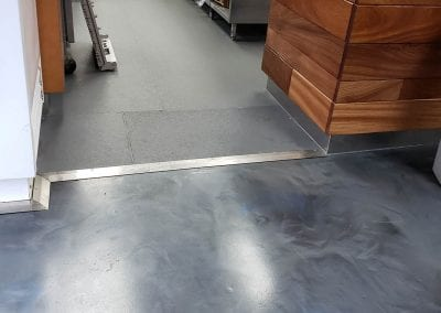 Eco-Grip Metallic Marble Floor Transition