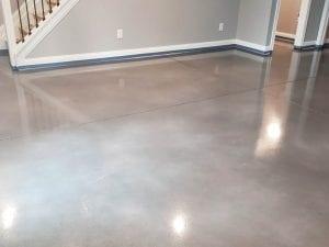 Water Based Stain Basement Floor