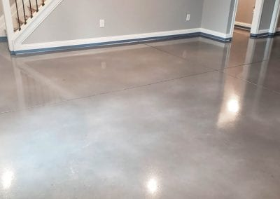 Water Based Stain Basement Floor